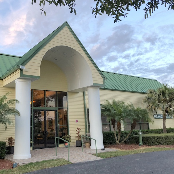 Gator Trace clubhouse front