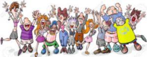 Gator Promos e-newsletter people jumping art